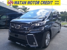 2015 TOYOTA VELLFIRE 2.5 Z INC SST 360 CAM SUNROOF DUAL POWER DOORS POWER BOOT JAPAN UNREG