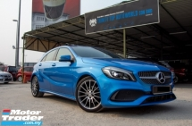 2017 MERCEDES-BENZ A-CLASS A200 1.6 AMG FULL SPEC - PERFECT CONDITION - LIKE NEW - WARRANTY TILL 2021 - FULL SERVICE RECORD - NEW FACELIFT - END YEAR SALE