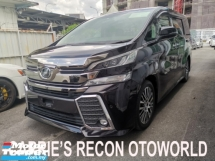 2015 TOYOTA VELLFIRE 2.5ZG Edition (JBL SOUND/HOME THEATER/4 CAMERA/PRECRASH) - JAPAN UNREG