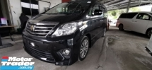 2014 TOYOTA ALPHARD 2.4 TYPE GOLD2 / ALPHINE MONITOR AND TV / TIPTOP CONDITION STOCK / 5 YEARS WARRANTY UNLIMITED KM