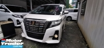 2016 TOYOTA ALPHARD 2.5 SA / 7 SEATER / NEW TYPE BLACK EDITION / LIMITED OFFER UNIT