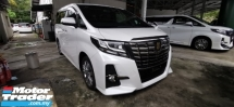 2016 TOYOTA ALPHARD 2.5 SA / PRE-CRASSH / NEW TYPE BLACK EDITION / READY STOCK