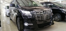 2015 TOYOTA ALPHARD 2.5 SC EDITION (UNBELIEVABLE OFFER)