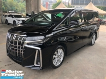 2018 TOYOTA ALPHARD 2.5 SA New Facelift 360 Surround Camera 7 Seat Passenger Foot Rest Automatic Power Boot 2 Power Doors Intelligent Full-LED Lights Pre-Crash Radar System Lane Departure Assist Brake Hold 9 Air Bags Unreg