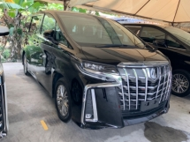 2018 TOYOTA ALPHARD 2.5 SA precrash system facelift surround camera power boot facelift lane assist unregistered