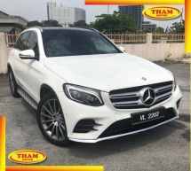 2017 MERCEDES-BENZ GLC 250 4MATIC 2.0(A)GLC250  WARRANTY GOOD CONDITION LOW MLEAGE LIKE NEW ACCIDENT FREE AND 1 CAREFUL OWNER