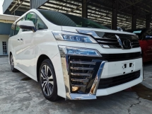 2018 TOYOTA VELLFIRE 3.5Z G EDITION DIM Sunroof Pre Crash Unreg Sale Offer