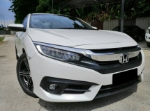 2017 HONDA CIVIC 1.5 TC PREMIUM FULL HONDA SERVICE RECORD HONDA WARRANTY