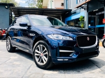 2016 JAGUAR F-PACE R-SPORT 20D TURBOCHARGED