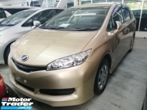 2014 TOYOTA WISH 1.8X/FREE 5 YEARS WARRANTY/LIMITED COLOR/OFFER/NON SMOKING