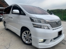 2010 TOYOTA VELLFIRE 2.4V AUTO TIP TOP CONDITION