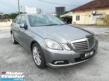 2011 MERCEDES-BENZ E-CLASS E200 CGI ELEGANCE AVANTGARDE 1.8(A) FREE 1YEAR WARRANTY GOOD CONDITION LOW MLEAGE LIKE NEW ACCIDENT FREE AND 1 CAREFUL OWNER