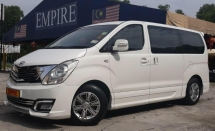2015 HYUNDAI GRAND STAREX ROYALE 2.5 (A) DIESEL TURBO !! 11 SEATER MPV !! NEW FACELIFT !! FULL HYUNDAI SERVICE RECORD !! FULL SPECS !! FULL BODYKIT !! ( WXX 555 ) 1 VIP OWNER !!