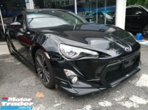 2014 TOYOTA 86 2.0 GT/FREE 5 YEARS WARRANTY UNLIMITED MILAGE/TRD BODYKIT/PUSH START/SHOWROOM UNIT