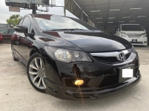 2010 HONDA CIVIC 2.0S i-VTEC FD - END YEAR SALE - WARRANTY 1 YEAR - FULL BODYKIT - PADDLE SHIFT - LEATHER SEAT - SUPERB CONDITION - NICE PLATE NO
