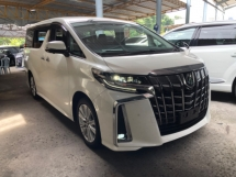 2018 TOYOTA ALPHARD Unreg Toyota Alphard SA 2.5 360view PowerBoot New Model Push Start 7G