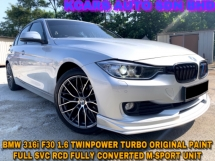 2014 BMW 3 SERIES 316i ORI PAINT FULLY CONVERTED M-SPORT