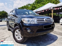 2009 TOYOTA FORTUNER 2.7V 1 OWNER LIKE NEW CAR CONDITION SUPER PROMOTION NOW!