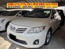 2012 TOYOTA ALTIS 1.8 (A) Facelift  Actual Year Make
