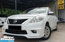 2014 NISSAN ALMERA VL IMPUL 5 SPEED AUTO 4 DOOR PUSH START