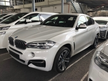 2015 BMW X6 M Sport 3.0 Twin-Turbo 360 Surround Camera HUD Head Up Display Harman Kardon Premium Sun Roof Memory Bucket Seat Paddle Shift Intelligent Full-LED Power Boot Bluetooth Pre-Crash Lane Departure Alert Pedestrian Alert Unreg