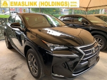 2014 LEXUS NX 200t 2.0 Luxury SUV UNREGISTER 2.xx% INTEREST RATE SST INCLUSIVE POWER BOOT FULL LEATHER JAPAN NEW ARRIVAL
