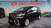 2016 TOYOTA VELLFIRE 2.5 ZA SUNROOF ROOF MONITOR YEAR END SALE SPECIAL FAST APPROVAL