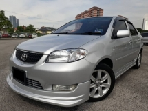 2004 TOYOTA VIOS 1.5 (A) G SPEC GOOD CONDITION KEPT WELL YEAR END PROMOTION PRICE.