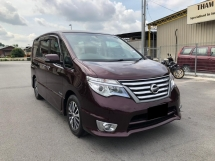 2016 NISSAN SERENA 2.0 (A) CVT H STAR S HYBRID GOOD CONDITION LOW MLEAGE LIKE NEW ACCIDENT FREE AND 1 CAREFUL OWNER