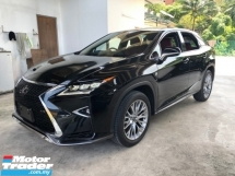 2017 LEXUS RX RX200t F Sport 2.0 Turbo 360 Surround Camera Pre-Crash Head Up Display HUD Intelligent Running Full