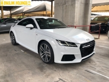 2015 AUDI TT S-Line Quattro 2.0 Turbo S-Tronic 230hp Intelligent Matrix-LED Virtual Cockpit Audi Multi-Media-Interface Bucket Seat Multi Function Paddle Shift Dynamic Comfort Drive Select Bluetooth Connectivity Unreg