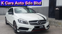 2015 MERCEDES-BENZ A-CLASS A250 2.0 (CBU NEW) Original Mileage Original Paint Fully Loaded To A45 Bodykit No Repair Need Worth Buy