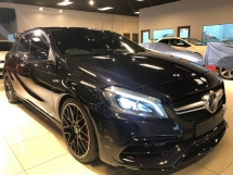 2016 MERCEDES-BENZ A45 AMG 2.0 4MATIC - UNREG - 0% SST - JAPAN MERCEDES-BENZ CERTIFIED CARS - PUSH START - HARMON KARDON - PANAROMIC ROOF