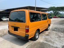 2004 TOYOTA HIACE WINDOW VAN FOR SELL - NEW SEAT & AIRCOND