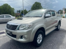 2012 TOYOTA HILUX DOUBLE CAB 3.0G (AT) VNT NO OFF ROAD FACELIFT FULL SERVICES TOPUP READY LIKE NEW CAR