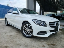 2015 MERCEDES-BENZ C-CLASS 2015 Mercedes C200 Avantgarde W205 Pre Crash Blind Spot LKA Keyless Unregister for sale