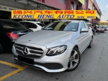 2018 MERCEDES-BENZ E-CLASS Latest Facelift E200 TRUE YEAR MADE 2018 Pre Reg Car Many Colors New Car Rate 2.xx 6 Yrs Warranty