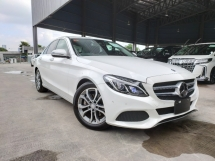 2016 MERCEDES-BENZ C-CLASS 2016 Mercedes C200 Avantgarde W205 Pre Crash Blind Spot LKA Keyless Unregister for sale