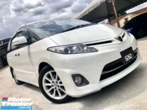 2011 TOYOTA ESTIMA 2.4 AERAS S (A) LIMITED EDITION FULL SPEC 1 OWNER