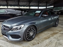 2016 MERCEDES-BENZ C-CLASS C300 AMG Coupe Burmester Panoramic Roof Power Boot Unreg Sale Offer