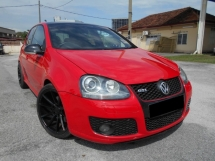 2006 VOLKSWAGEN GOLF  2.0 GTi (A) SUNROOF GOOD CONDITION LOW MLEAGE LIKE NEW ACCIDENT FREE AND 1 CAREFUL OWNER