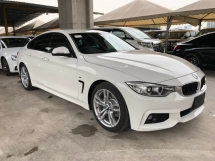 2016 BMW 4 SERIES 420i M Sport Gran Coupe 2.0 Twin-Turbo Sport/Eco Pro Drive Select Pre-Collision Automatic Power Boot Intelligent Bi-Xenon Memory Bucket Seat Multi Function Paddle Shift Steering Lane Departure Assist Keyless-GO Reverse Camera Bluetooth Connectivity Unreg