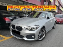 2016 BMW 1 SERIES 120i M SPORT NEW FACELIFT TRUE YEAR MADE 2016 MIl 47k km only Free Service Under BMW Warranrty 2021