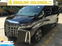 2018 TOYOTA ALPHARD 2.5 SC MPV New Model FULL CAMERA Power Boat Leather Seat
