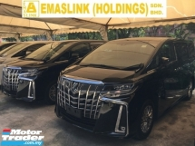 2018 TOYOTA ALPHARD SA PACKAGE MPV NEW MODEL FULL VIEW CAMERA POWER BOAT