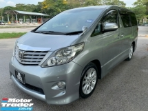 2010 TOYOTA ALPHARD 2.4 (A) Premium Spec Sunroof Moonroof Home Theater 2 Power Door TipTop Condition View to Confirm