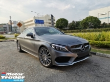 2017 MERCEDES-BENZ C-CLASS 3.YEARS WARRANTY C300 COUPE FULL SPEC EXCELLENT COND HIGHEST GRADE CAR. E250 C250 328I 428I A4 A5