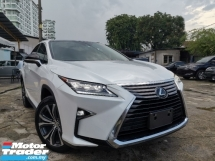 2017 LEXUS RX 200t 2.0 Luxury SUV 3 EYE DAYLIGHT SUNROOF/POWER BOOT UNREG