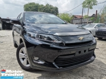 2015 TOYOTA HARRIER 2.0 Elegance SUV BLACK INTERIOR (FREE 1 YEAR WARRANTY) UNREG