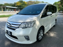 2014 NISSAN SERENA 2.0 S-Hybrid High-Way Star (A) 2014 Full Service Record 1 Owner Only 2 Power Door Push Start View to Confirm